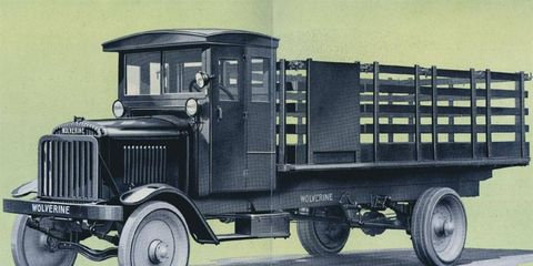 """The American Commercial Car Co. """"Model L"""" Wolverine Truck didn't offer many creature comforts, but it did promise to get your goods where they needed to go."""