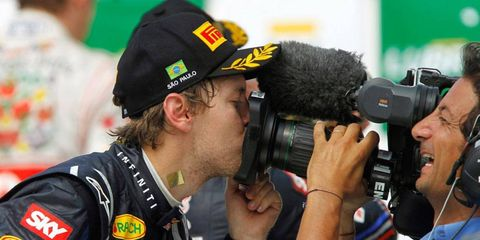 Three-time Formula One champion Sebastian Vettel and the rest of the F1 circus knows the importance of television in the success of the series.