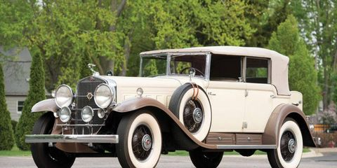 Cars from the Kughn collection at RM Auctions event at the Concours d'Elegance of America.