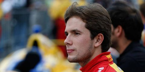 Rookie Carlos Munoz has made the leap from Indy Lights to starting on the front row of the Indianapolis 500.