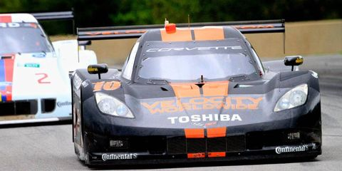 Jordan Taylor proved he's got what it takes to win in the Daytona Prototype class on Friday, taking the pole in Detroit's Grand-Am race.