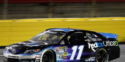 Denny Hamlin is hoping to make it into the Chase, even though he missed four races with a back injury
