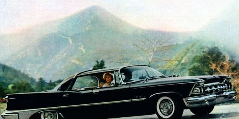 The Imperial by Chrysler -- <i>not</i> the Chrysler Imperial -- was all about luxury, luxury, luxury. And elegance. And more luxury.