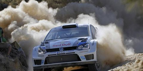 Sebastien Ogier has dominated the World Rally Championship so far, but he's keyed in for this weekend's race in Greece.