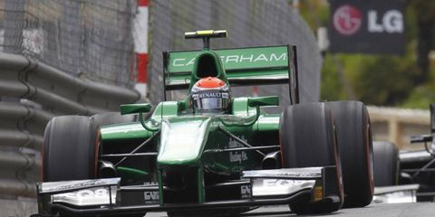 Alexander Rossi, shown driving a GP2 Series Caterham in Monte Carlo, will test a Formula one Caterham in Montreal.