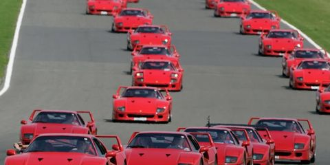 The Ferrari F40 was the last model personally approved by Enzo Ferrari. When it went on sale in 1987, it was the most powerful and expensive Ferrari to date.
