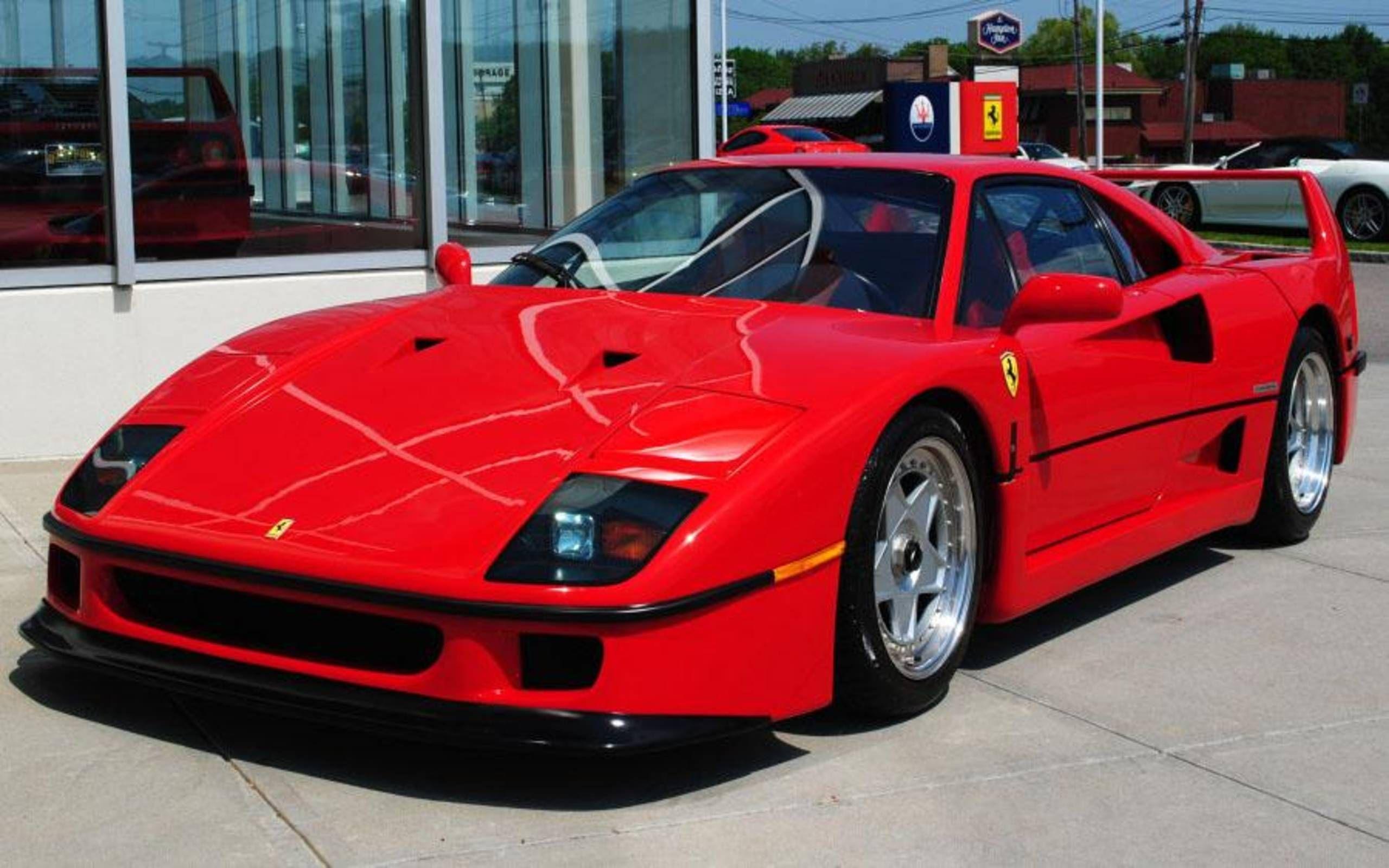 Ferrari Threefer F40 F50 And Enzo For 6 Million