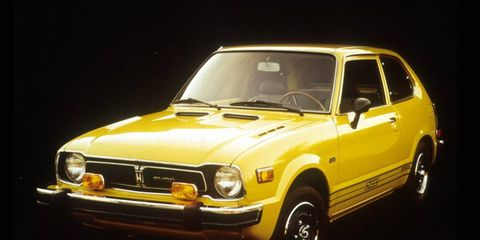 The 1975 Civic with the CVCC engine was a  major success for Honda in the U.S.