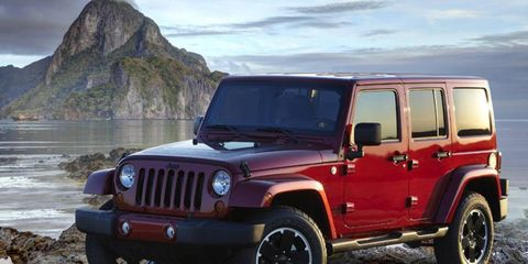 The Jeep Wrangler is being recalled by Chrysler for transmission flaws