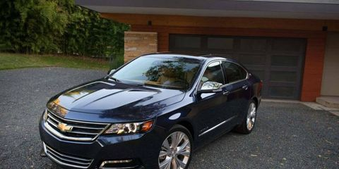 The newly introduced Impala is among the vehicles recalled