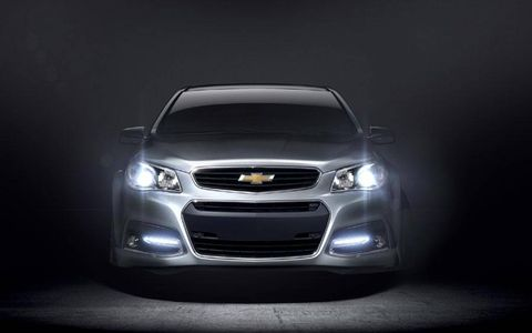 The Chevy SS rolls on the same platform as the Pontiac G8.