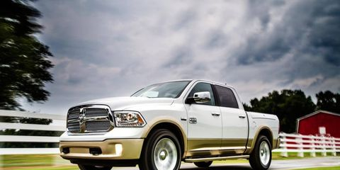 Ram pickup deliveries rose 22 percent to 31,672 in May.