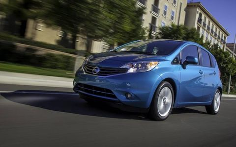 The 2014 Nissan Versa Note gets a new name, new platform and a new CVT.