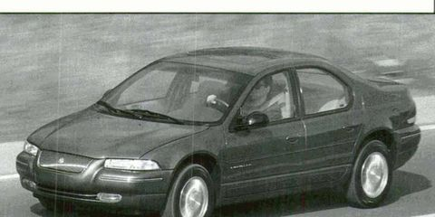 We compare this Chrysler Cirrus to the Ford Contour/Mercury Mystique.
