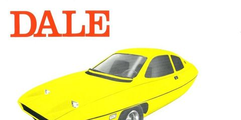 "Tagged the ""car of the future,"" the Dale was expected to return 70 mpg."