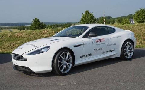This Bosch Engineering Aston Martin DB9 won't be produced for consumers.