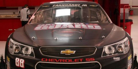 Dale Earnhardt Jr., who will sport a Superman paint scheme this weekend, is hoping Michigan International Speedway won't be like Kryptonite for him.
