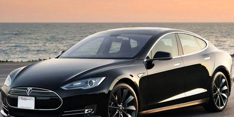Cheap fun? Enthusiasts have calculated that a spirited drag strip run in a Model S will set you back just six cents.