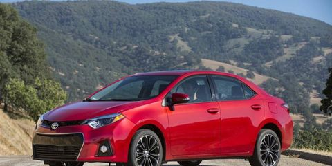 The 2014 Toyota Corolla is expected to go on sale this fall.