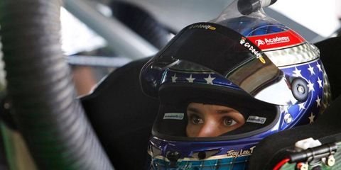 Danica Patrick has raced at Michigan, but never in a NASCAR Sprint Cup Series car.