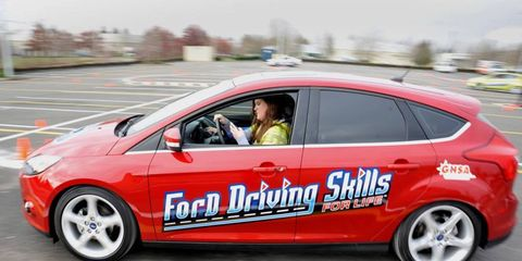 Ford's Driving Skills for Life program is set to visit 40 schools in 2013.