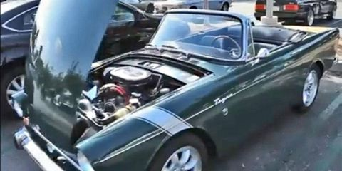 Mike Michels may be a Toyota exec, but that doesn't keep him away from quirky British-American hybrids like his 1966 Sunbeam Tiger.