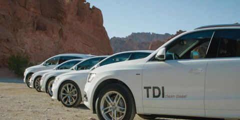 The expanded hit-list of defeat-device equipped TDI diesels now includes 2014 VW Touareg, 2015 Porsche Cayenne and 2016 Audi A6 Quattro, A7 Quattro, A8, A8L and Q5 crossover. Essentially, anything using Volkswagen's 3.0-liter diesel engine.