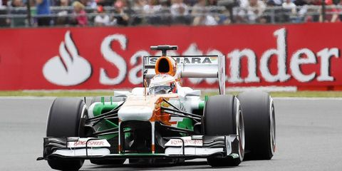 Paul Di Resta was found to be underweight before Formula One qualifying. The violation will send him to the back of the grid.