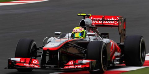 Sergio Perez is still looking for his first podium with McLaren.