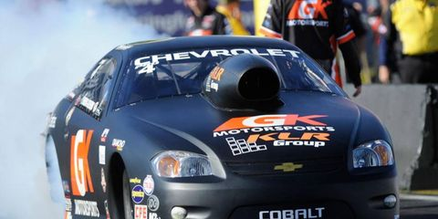 Erica Enders-Stevens made NHRA history last year when she became the first woman to win an NHRA Pro Stock event.
