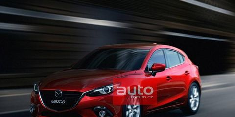 The 2014 Mazda 3 photos were leaked today on a Czech website.