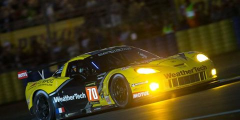 Cooper MacNeil and the No. 70 Corvette finished 42nd at the 24 Hours of Le Mans.