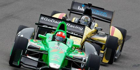 James Hinchcliffe is hoping that IndyCar Series wins continue to come in bunches.