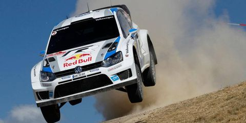 Sebastien Ogier has a commanding lead with one day remaining at Rally Italy.