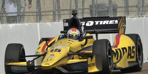 Graham Rahal would like to do a NASCAR race on a road course one day.