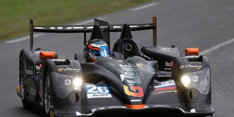 Mike Conway, John Martin and Roman Rusinov are sharing time in the No. 26 G-Drive Racing Oreca-Nissan at Le Mans.