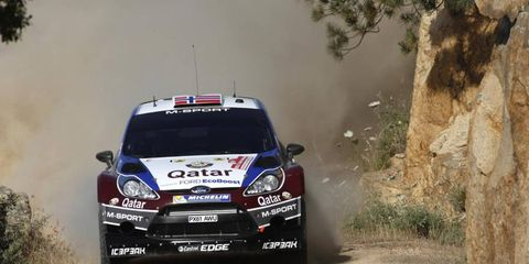Mads Ostberg has struggled so far in this WRC season, but he is looking for victory in Italy.