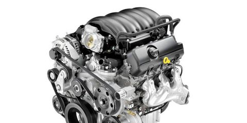 GM's new 4.3-liter EcoTec3 V6 produces 285 hp and 305 lb-ft of torque