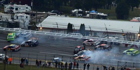 You can always count on at least one exciting wreck at Talladega, but what about some of the less exciting tracks?