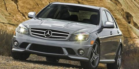 We never doubted the C63 AMG's power but were delightfully surprised at its agility