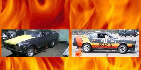 The Plymouth Fire Arrow and Savoy make up an all Mopar orphan edition of Project Car Hell!