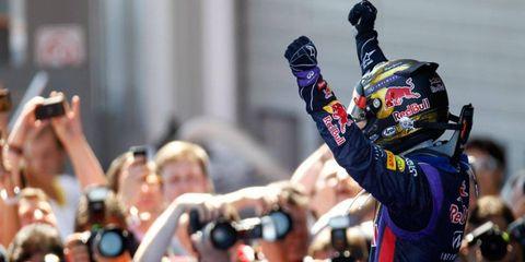 German native Sebastian Vettel won the Formula One German Grand Prix on Sunday.
