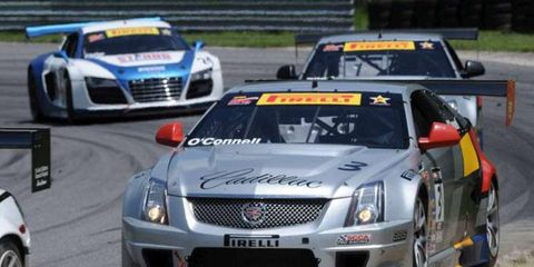Johnny O'Connell won at Lime Rock Park on Saturday.