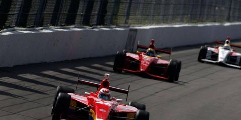 The Indy Lights series, shown here at Pocono, may be heading in a new direction with new leadership.