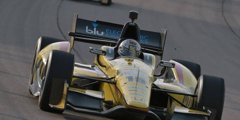 Graham Rahal is looking to climb the IndyCar standings.