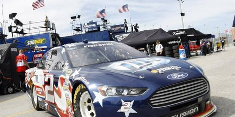 Brad Keselowski was one of 16 Sprint Cup drivers to have illegal roof flaps at Daytona.