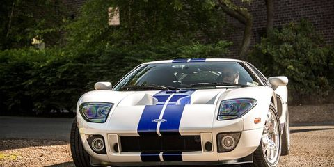 The Ford GT at the 2013 Greenwich Concours d'Elegance.