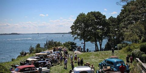 The field of the Misselwood Concours d'Elegance