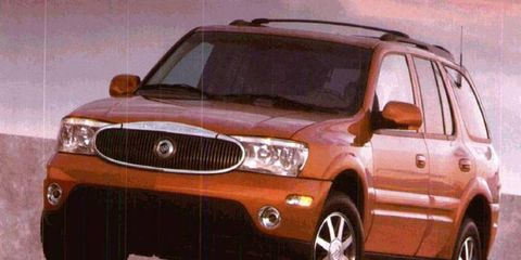The 2004 Buick Rainier was solid entry into the mid-size luxury SUV market