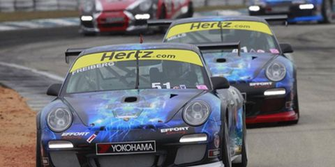 Ashley Freiberg recently became the first woman win a GT3 race in North America.
